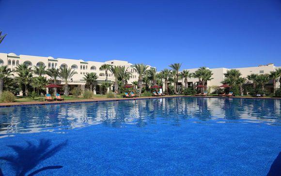 Poussez les portes de l'hôtel Hasdrubal Thalassa & Spa Djerba 4*