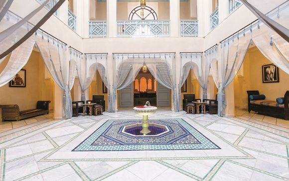 Poussez les portes de l'hôtel Les Jardins de l'Agdal 5*