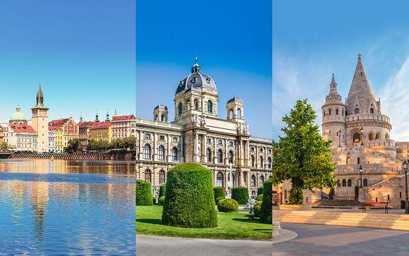 Combiné 4* Prague, Vienne et Budapest
