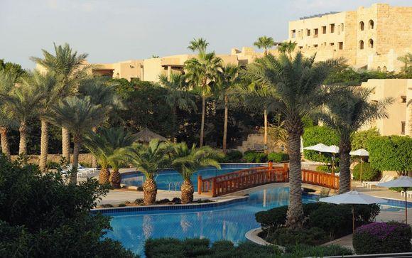 Poussez les portes de l'hôtel Movenpick Dead Sea 5* à la Mer morte