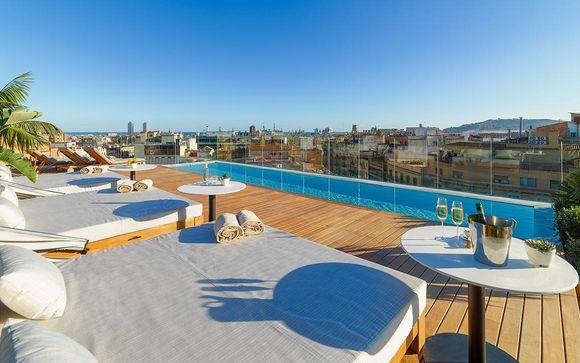 Poussez les portes de l'hôtel H10 The One Barcelona 5*