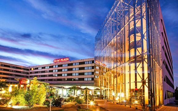Poussez les portes de votre hôtel Plaza - Site du Futuroscope 4*