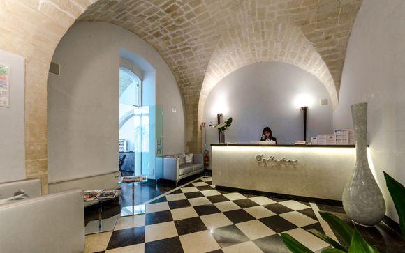 Poussez les portes de l'Hôtel De Stefano Palace 4*