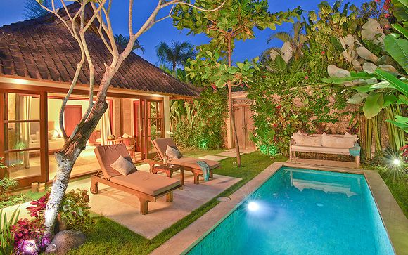 Hôtel Villa Kubu Seminyak et pré-extension possible à Ubud
