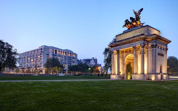 Poussez les portes de l'hôtel Intercontinental Park Lane *