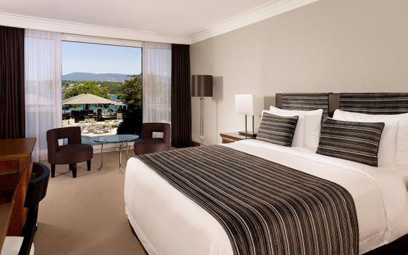 Poussez les portes de l'hôtel Hôtel Président Wilson 5* à Genève
