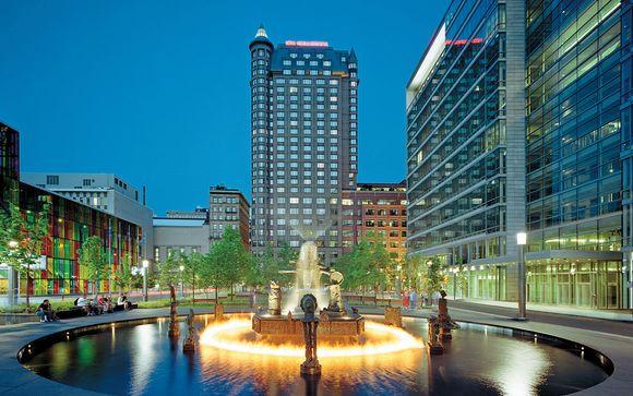 Poussez les portes de l'hôtel Intercontinental Montréal 4*