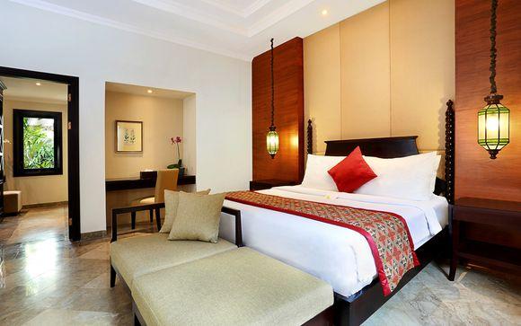 Poussez les portes de l'hôtel The Club Villas Bali 5*
