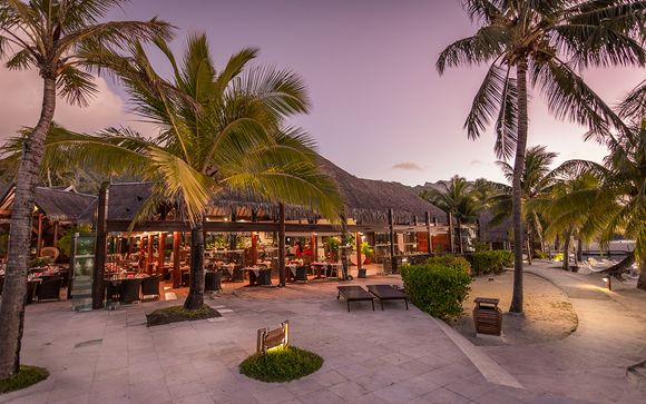 Poussez les portes de l'hôtel Manava Beach Resort & Spa 4*