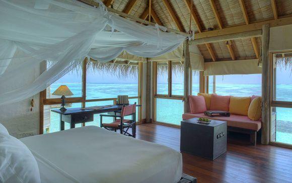 Poussez les portes de votre hôtel Gili Lankanfushi Maldives 5*