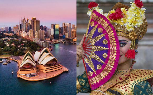 Combiné Australie et Bali