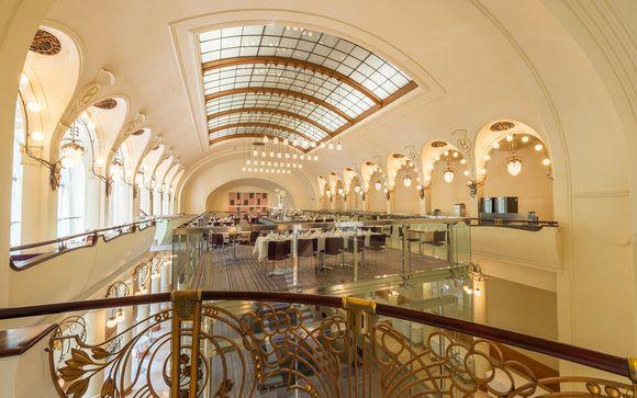Écrin architectural dans la ville d'or