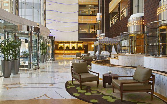 Poussez les portes de l'hôtel   Doubletree by Hilton Al Barsha à Dubai