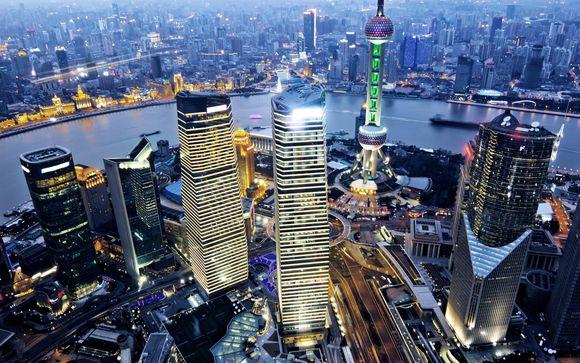 Swissotel Grand Shanghaï 5* en classe affaires avec Emirates