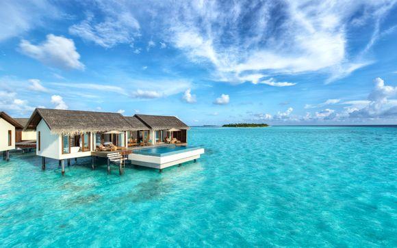 Poussez les portes de l'hôtel The Residence Maldives 5*