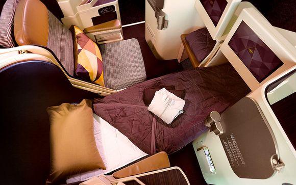Envolez-vous avec la compagnie en classe Affaires Etihad Airways