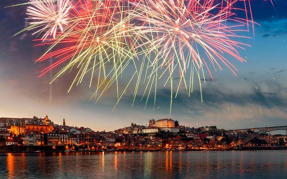 Feux d'artifices et croisière du nouvel an inclus