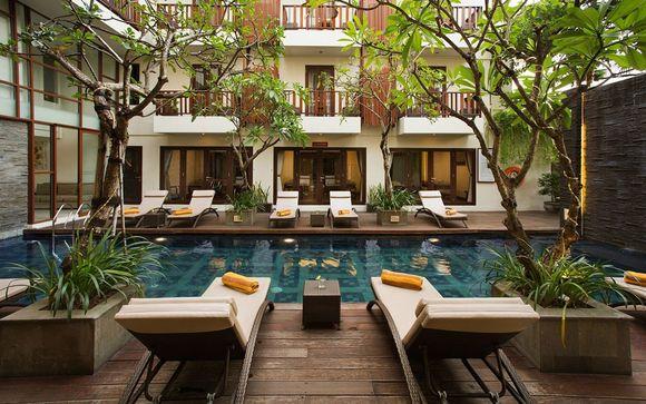 Votre extension à l'hôtel Sens Hotel Seminyak 4*