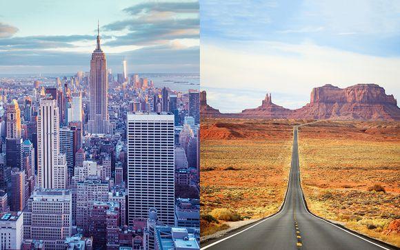 Bentley Hotel New York 4* et Autotour dans l'Ouest