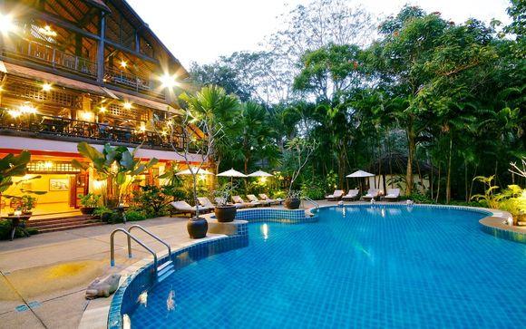 Poussez les portes de l'hôtel River Kwai 4*