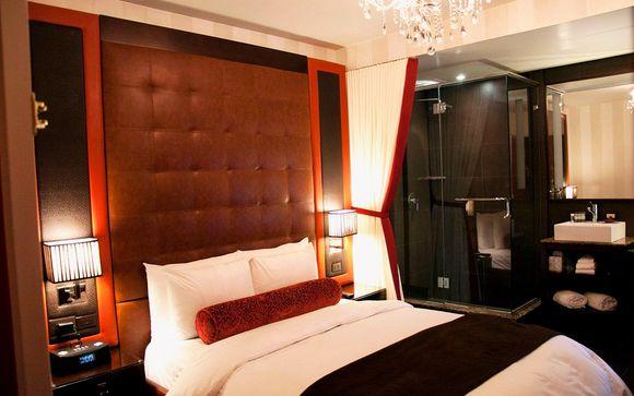 Poussez les portes de l'hôtel Sanctuary 4* à New-York si vous avez choisi l'offre 2