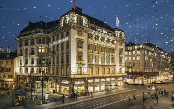 Poussez les portes de votre hôtel Savoy Baur en Ville 5*
