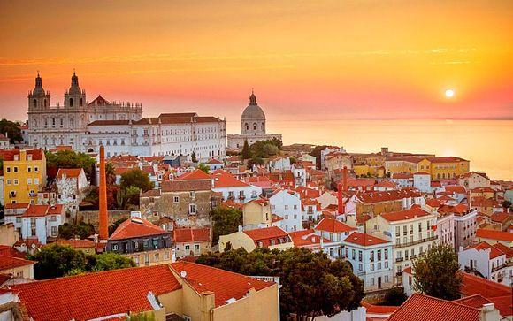 Chaleur et couleurs dans la capitale portugaise