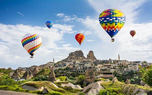 Combin� Lionel Hotel et circuit en Cappadoce avec Turkish Airlines