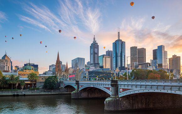 scène de rencontre à Melbourne en Australie