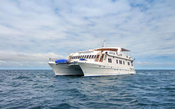 Choix 2 : Votre extension possible sur sur le bateau de croisière M/Y Archipel