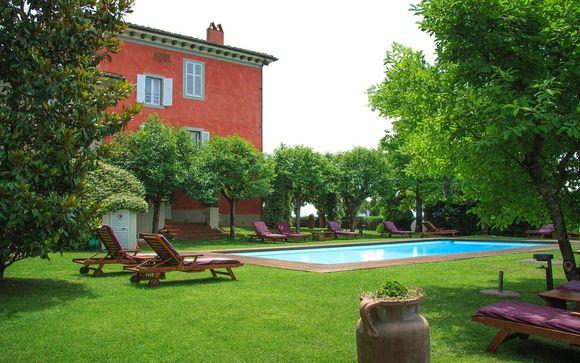 San Giustino Valdarno - Villa Cassia di Baccano 4*
