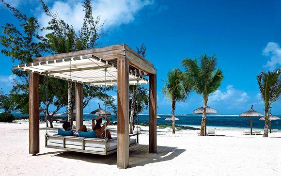 Esclusivo resort 5* con piscina sulla spiaggia di Belle Mare