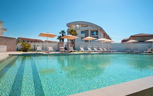 Moderno resort sull'incantevole spiaggia di Marina di Modica