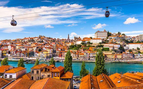 L'itinerario partenze dell'11 agosto da Porto a Lisbona