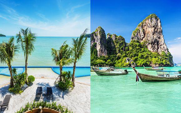 Sabbia bianca e rifugio eco-friendly sull'isola Phi Phi