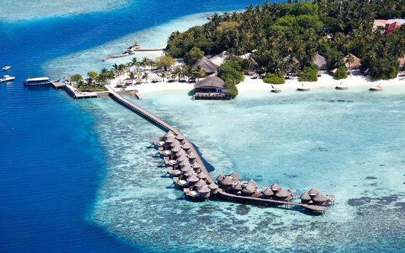Ville con spiaggia privata in 5* sull'Isola di Kudafolhudhoo