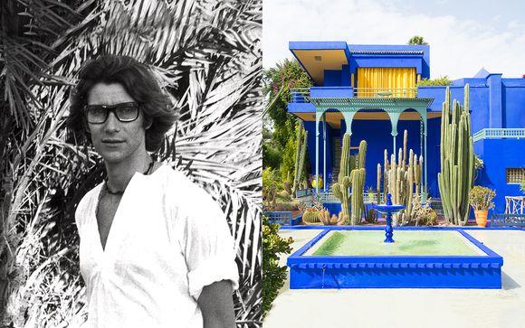 Riad Luxe 40 con visita al museo d'arte di Yves Saint Laurent