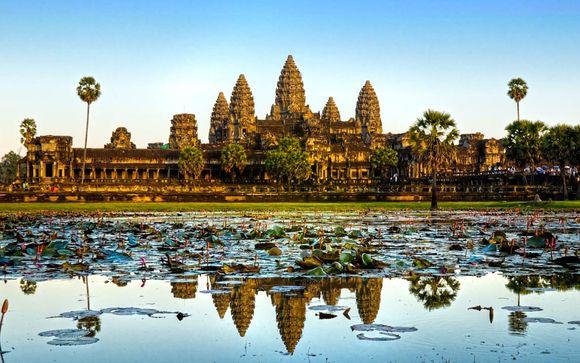 Le meraviglie della Cambogia & estensione mare