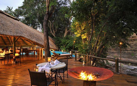 Selous Park - Selous Serena Luxury Camp