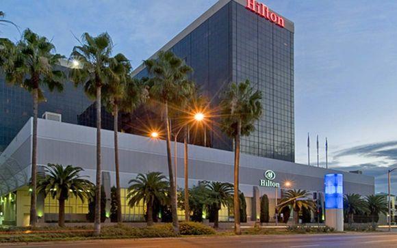 Sistemazione a Los Angeles - Hotel Hilton Los Angeles Airport