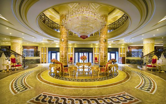 Abu Dhabi: Hotel Royal Rose 5*