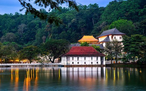 Tour dello Sri Lanka con possibile estensione mare