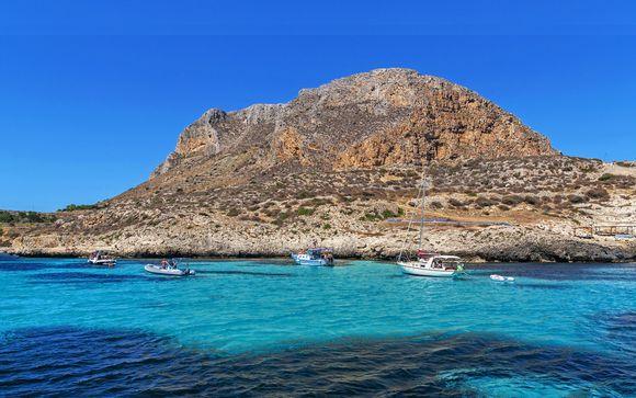 Relax in 4* sulla spiaggia con vista sulle Egadi