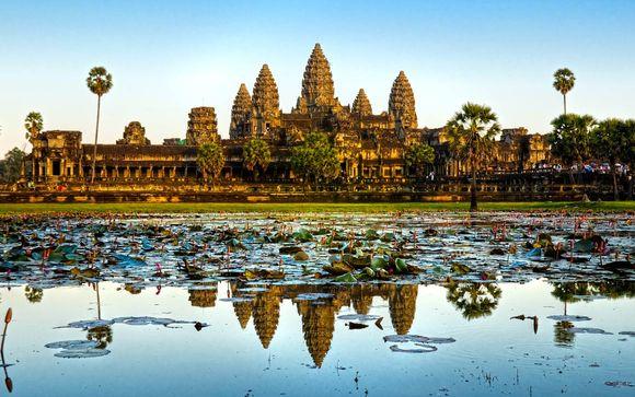 L'itinerario con estensione in Cambogia