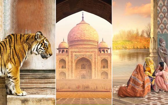 Tour 10 notti - Triangolo d'Oro + Khajuraho + Varanasi in 4* e 5*