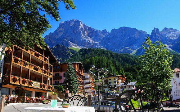 Storico 4*S con spa nel cuore delle Dolomiti