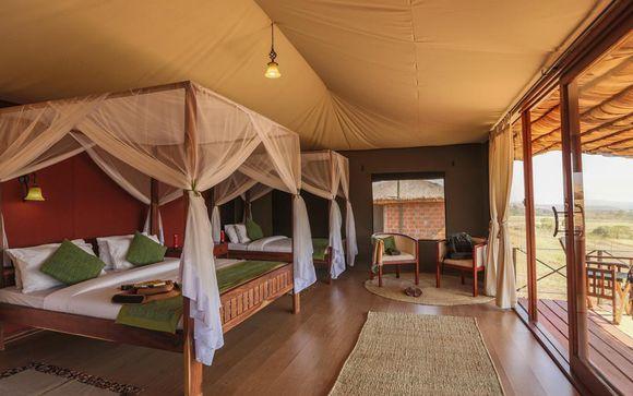 Tanzania - Hotel previsti durante il Simba Safari