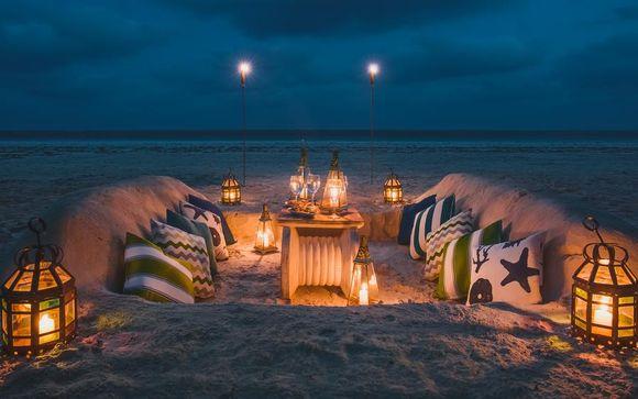 Beach Villa private sulla spiaggia di Diani e safari