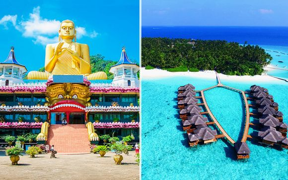 Minitour Sri Lanka 5 giorni / 4 notti & Fihalhohi Island Resort 4*