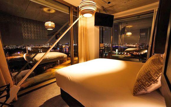 Camere con vista in boutique hotel 4* di design